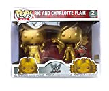 USA OFFICIAL RIC And Charlotte Flair Funko Pop 2 Pack WWE Figure Wrestling Special Edition