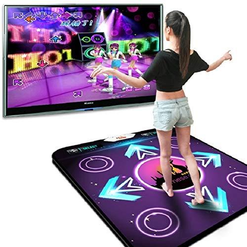 GSOLOYL Non Slip Dancing Step Dance Mat Motion Sensing Wireless Accurate Foot Print Game Mats Fitness Pads To PC TV USB Dancing Mat