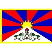 Tibet Flag 3x5 3 x 5 NEW Tibetan TIBETIAN DALAI LAMA