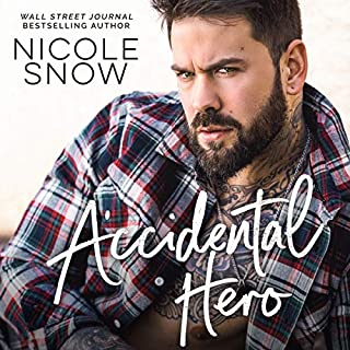 Accidental Hero audiobook cover art