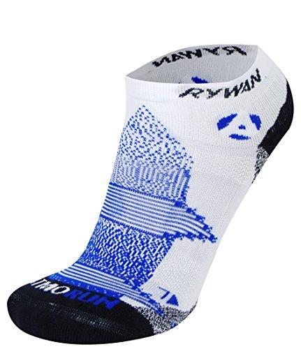 RYWAN Atmo-Run Climasocks Socken, Blau/Orange, 35-38