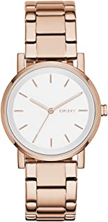 DKNY Women's NY2344 SOHO Analog Quartz Rose Gold Watch