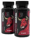 TITANODROL Premium, 2 paquetes, aumenta los niveles de testosterona y hormona de crecimiento, rápido crecimiento muscular, rápida quema de grasa, sin esteroides, ¡sin efectos secundarios!