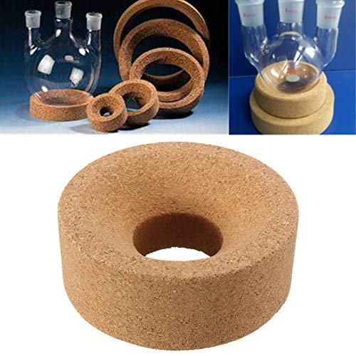 DyNamic 80 * 30 * 30 Mm Kurk Mat Lab Stand Ring Ronde Bodem Voor 50Ml-250Ml Kolf Glas Experimentele Apparatuur