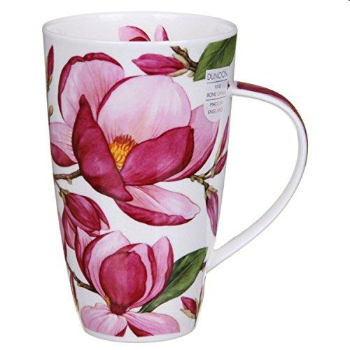 DUNOON Magnolias Dark Pink Becher Henley