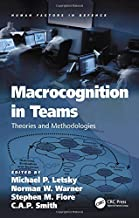 Macrocognition in Teams: Theories and Methodologies