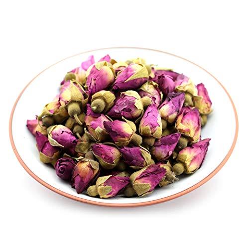 GOARTEA 100g (3.5 Oz) Dry Dried Red Rosebud Rose Buds Flower Floral Health Chinese Herbal Tea