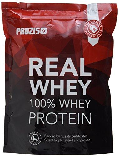 Prozis 100% Real Whey Protein 1000 g Schokolade - Reinstes Molkenprotein Pulver für einen köstlichen, weichen und klumpenfreien Proteinshake, mit komplettem Aminosäureprofil, reich an BCAA