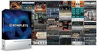 Native Instruments インストゥルメント/エフェクト・コレクション KOMPLETE 10 ULTIMATE UPD