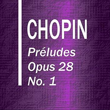 Préludes Opus 28 No. 1 Agitato