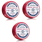 C.O. Bigelow ROSE SALVE The Classic All-Purpose Salve 22g/0.8oz, (3 Pack)