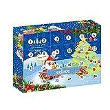 Calendario de Adviento de Navidad Colgante Precioso Adorno Colgante de Árbol de Navidad Creativo Calendario de Cuenta Regresiva de Navidad Caja de Regalos, Decoraciones de Halloween, Decorac