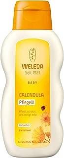 Weleda Calendula Baby Oil - Fragrance Free, 200 milliliters
