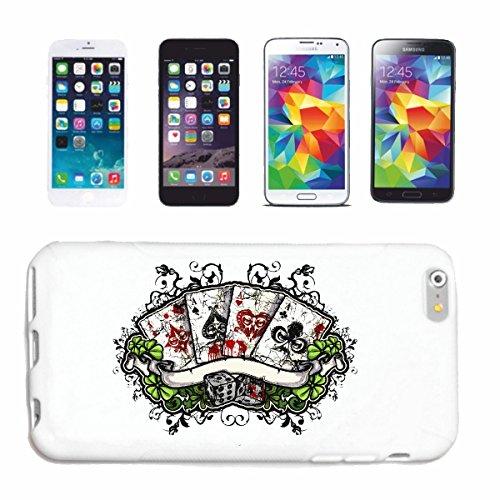 Reifen-Markt Hard Cover - Funda para teléfono móvil Compatible con Apple iPhone 7+ Plus Póker del Casino Motorista Tarjeta DE Camisa Juego de Juego Game Cube
