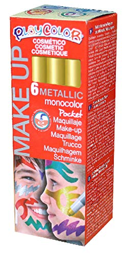 PLAYCOLOR make-up stick zonder parabenen, 01019 goud