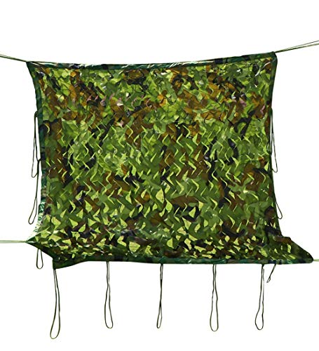 YUDEYU Tarnnetz Schattierung Im Freien Dschungel Schatten Sonnencreme Tuch Begrünung Versteckte Sich (Size : 4x6m)