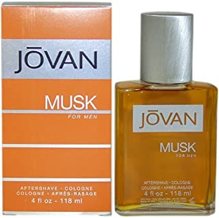 Jovan Musk Men After Shave Cologne by Jovan, 4 Ounce