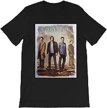 Super-Natural Fun Dean Sam Castiel Crowley Graphic tee-Shirt Gift for Men Women Girls Unisex T-Shirt Sweatshirt