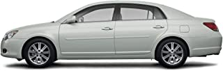 Dawn Enterprises FE-AVA05 Finished End Body Side Molding Compatible with Toyota Avalon - Blizzard White Pearl (070)
