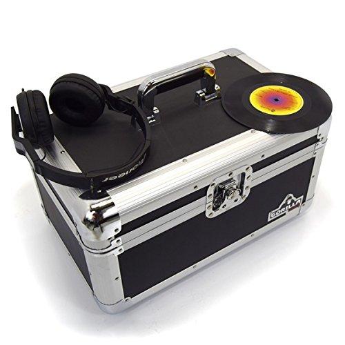 Gorilla 17,8cm Singles Vinyl Record Tragetasche Aufbewahrungsbox Robust hält 200INC Lebenslange Garantie