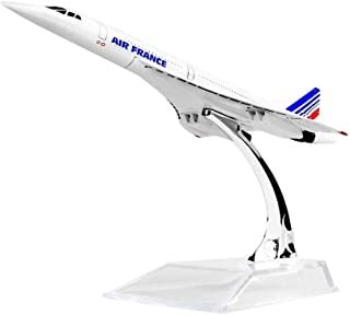 エールフランスF-BVFBコンコルド16センチメートルメタル飛行機モデル子供の誕生日プレゼントクリスマスギフト飛行機モデル D-20-8-07