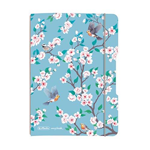 herlitz 50029105 Schülerkalender Flex 2020/21, A5, Motiv: Birds, 1 Stück