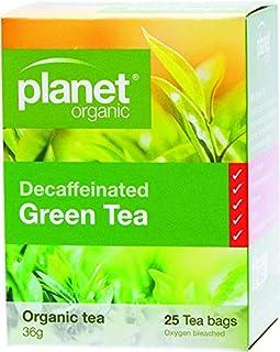 Planet Organic Decaffeinated Green Tea 25 Teabags