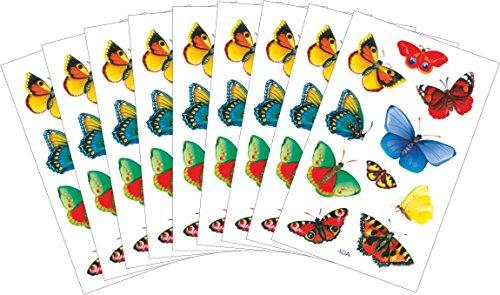 AVERY Zweckform decoratieve stickers, vlinders 90 Aufkleber