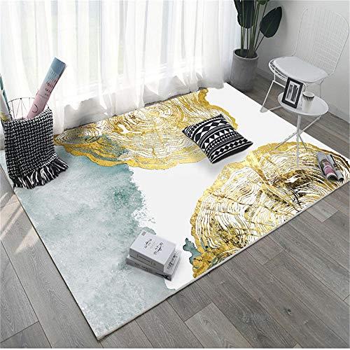 RUGMRZ Alfombras Online Baratas Patrón Abstracto Moderno y Simple, Suave y Resistente a la Suciedad, Buen Cuidado de la Sala de Estar, el Dormitorio, el Pasillo, la alfombra80X120CM/2ft 7