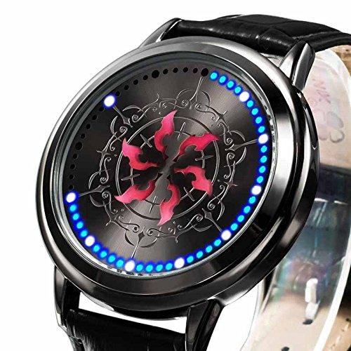 『腕時計 ウォッチ 六花の勇者 アニメグッズ 防水 LED コスプレ道具 小物 誕生日 ギフト プレゼント mxys68』の1枚目の画像
