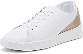 Lacoste Eyyla 219 1 Womens White/Gold Trainers