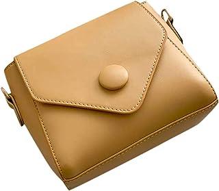 Amlaiworld Bolso de hombro de color liso para mujer bolso