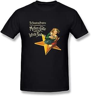 Danielle Men's Smashing Pumpkins Mellon Collie and Infinite Sadness T-Shirt Black