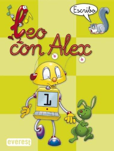 Leo con Álex 1. Escribo (Leo con Alex) - 9788424182625