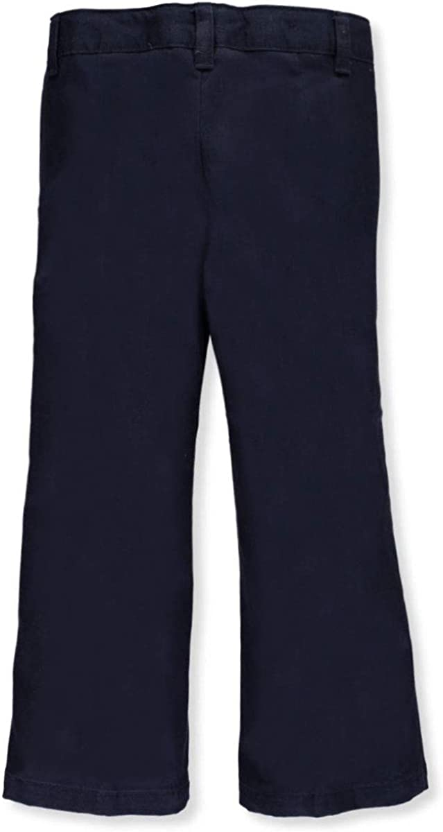 French Toast Dealing full price reduction Adjustable Store Waist Drop Front Pants Flat Navy