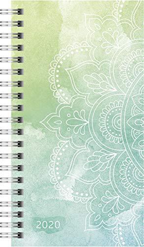 rido/idé 701410495 Taschenkalender Timing 2 (2 Seiten = 1 Woche, PP-Einband Graphic, Kalendarium 2020)