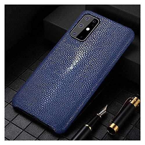 LBWNB Carcasa de telefono Ajuste para Samsung S20 Plus S20FE S10 S9 S8 Funda de Cuero Genuina Ajuste para Galaxy S20 Ultra Note 9 10 Tapa de la batería del teléfono móvil
