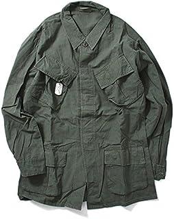 ROTHCO ロスコ OD VINTAGE VIETNAM FATIGUE SHIRT L/S ミリタリーシャツ ロングスリーブシャツ シャツ MILITARY 4687 OLIVE ベトナム 長袖