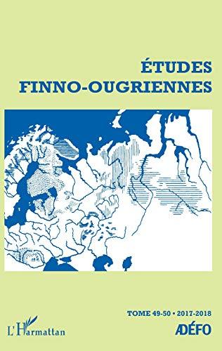 Études Finno-Ougriennes: 2017-2018