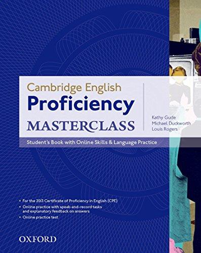 Cambridge English Proficiency Masterclass: Student's Book with Online Skills & Language Practice