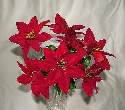 Stella Di Natale Artificiale.Amazon It Stella Di Natale Artificiale Piante E Fiori