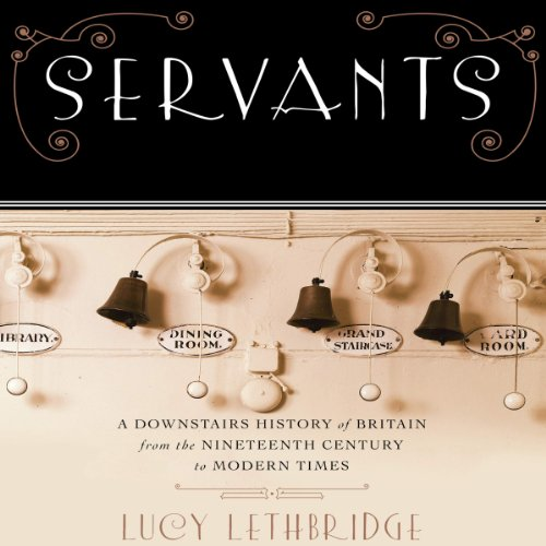 Servants audiobook cover art