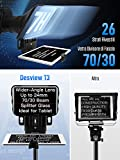 Immagine 2 teleprompter desview t3 telepromter per