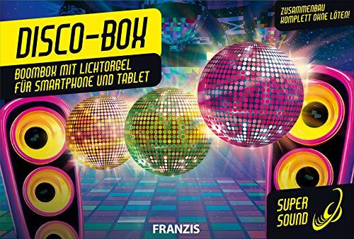 Disco-Box: Boombox mit Lichtorgel
