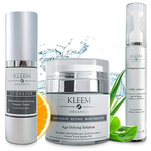 Anti Aging Skin Care Set: Retinol C…