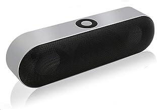 Bluetooth Speaker with Radio Wireless Stereo Loudspeaker Surround Sound System Music Box Outdoor Speakers