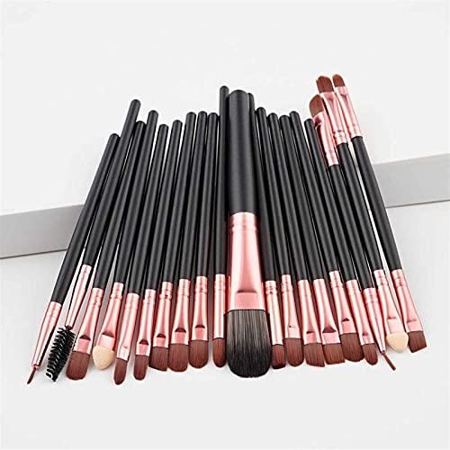 Kit de pincéis de maquiagem com 20 peças, base, pó, blush, sombra, corretivo, lábio, olhos, escova de maquiagem, cosméticos, ferramentas de beleza (tamanho : 606)