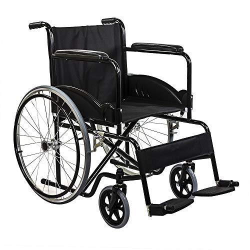 KosmoCare Dura Black Spoke Wheelchair