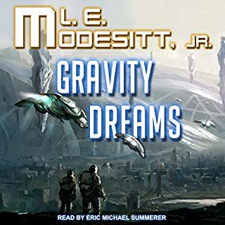 Gravity Dreams audiobook cover art