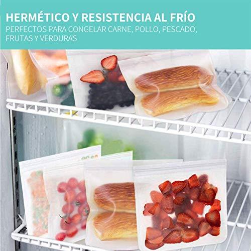 MEIRUIER Bolsas Vertical de Almacenamiento de Alimentos,Bolsas de ...